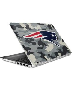 New England Patriots Camo HP Pavilion Skin
