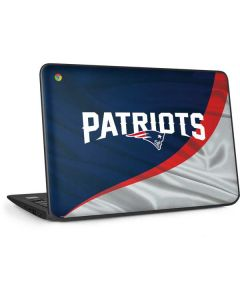 New England Patriots HP Chromebook Skin