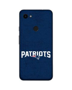 New England Patriots Distressed Google Pixel 3a Skin