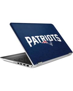 New England Patriots Distressed HP Pavilion Skin