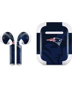 New England Patriots Double Vision Apple AirPods 2 Skin