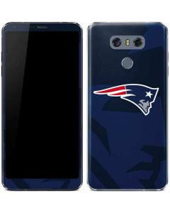 New England Patriots Double Vision LG G6 Skin