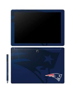 New England Patriots Double Vision Galaxy Book 10.6in Skin