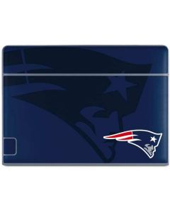 New England Patriots Double Vision Galaxy Book Keyboard Folio 10.6in Skin
