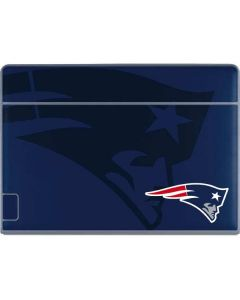 New England Patriots Double Vision Galaxy Book Keyboard Folio 12in Skin