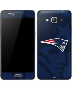 New England Patriots Double Vision Galaxy Grand Prime Skin