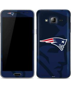 New England Patriots Double Vision Galaxy J3 Skin