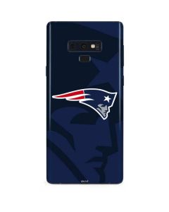 New England Patriots Double Vision Galaxy Note 9 Skin
