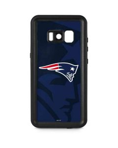 New England Patriots Double Vision Galaxy S8 Waterproof Case