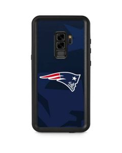 New England Patriots Double Vision Galaxy S9 Plus Waterproof Case