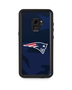 New England Patriots Double Vision Galaxy S9 Waterproof Case