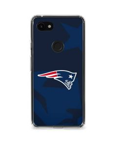 New England Patriots Double Vision Google Pixel 3a Clear Case