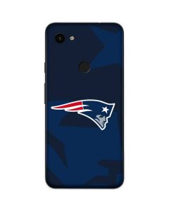 New England Patriots Double Vision Google Pixel 3a XL Skin