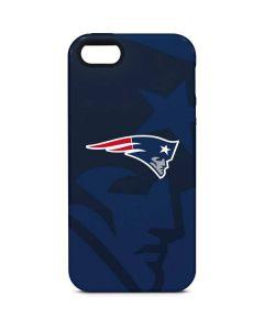 New England Patriots Double Vision iPhone 5/5s/SE Pro Case