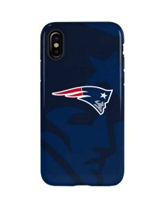 New England Patriots Double Vision iPhone XS Max Pro Case