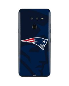 New England Patriots Double Vision LG G8 ThinQ Skin
