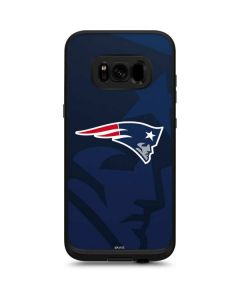 New England Patriots Double Vision LifeProof Fre Galaxy Skin
