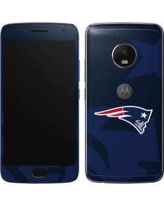 New England Patriots Double Vision Moto G5 Plus Skin