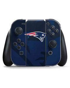 New England Patriots Double Vision Nintendo Switch Joy Con Controller Skin
