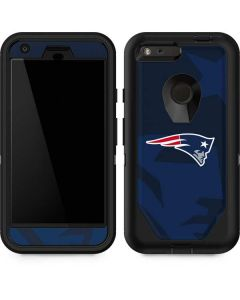 New England Patriots Double Vision Otterbox Defender Pixel Skin