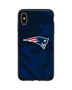 New England Patriots Double Vision Otterbox Symmetry iPhone Skin
