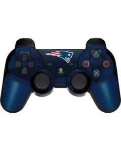 New England Patriots Double Vision PS3 Dual Shock wireless controller Skin