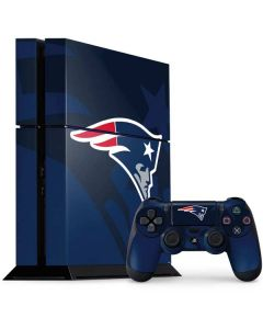 New England Patriots Double Vision PS4 Console and Controller Bundle Skin