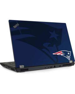 New England Patriots Double Vision Lenovo ThinkPad Skin