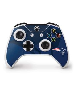 New England Patriots Double Vision Xbox One S Controller Skin