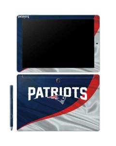 New England Patriots Galaxy Book 12in Skin