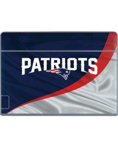 New England Patriots Galaxy Book Keyboard Folio 12in Skin