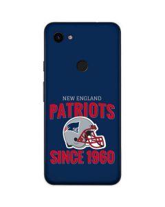 New England Patriots Helmet Google Pixel 3a Skin