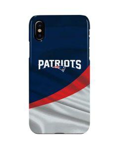 New England Patriots iPhone XS Max Lite Case