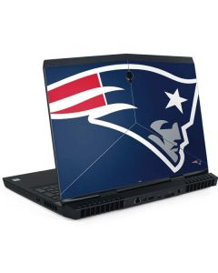 New England Patriots Large Logo Dell Alienware Skin