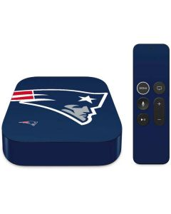 New England Patriots Large Logo Apple TV Skin