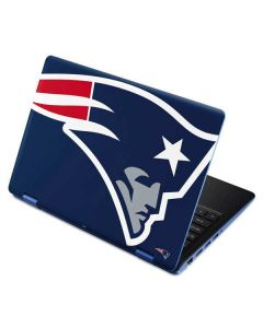 New England Patriots Large Logo Aspire R11 11.6in Skin