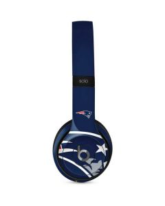 New England Patriots Large Logo Beats Solo 2 Wired Skin