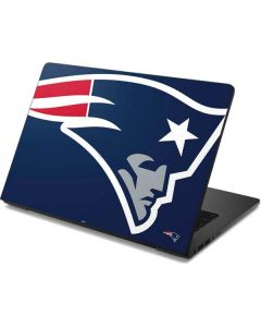 New England Patriots Large Logo Dell Chromebook Skin