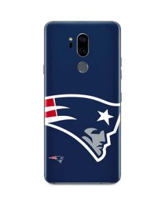 New England Patriots Large Logo G7 ThinQ Skin