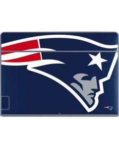 New England Patriots Large Logo Galaxy Book Keyboard Folio 12in Skin