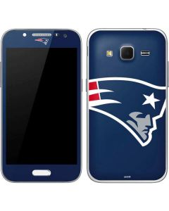 New England Patriots Large Logo Galaxy Core Prime Skin