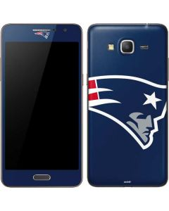 New England Patriots Large Logo Galaxy Grand Prime Skin