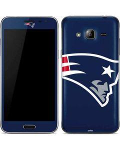 New England Patriots Large Logo Galaxy J3 Skin