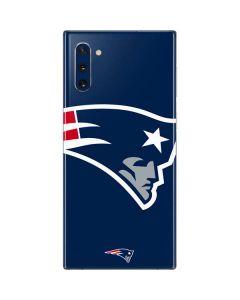 New England Patriots Large Logo Galaxy Note 10 Skin