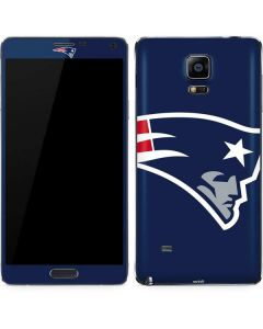 New England Patriots Large Logo Galaxy Note 4 Skin