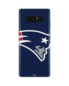 New England Patriots Large Logo Galaxy Note 8 Skin