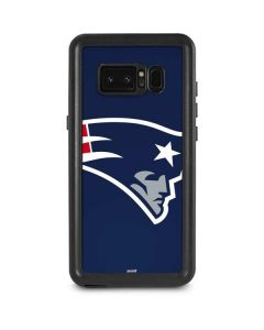 New England Patriots Large Logo Galaxy Note 8 Waterproof Case