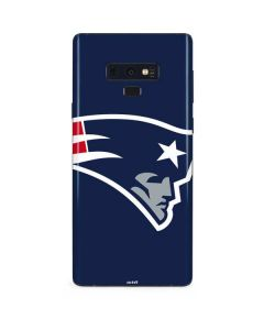 New England Patriots Large Logo Galaxy Note 9 Skin