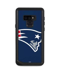 New England Patriots Large Logo Galaxy Note 9 Waterproof Case