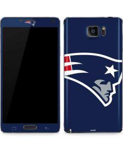 New England Patriots Large Logo Galaxy Note5 Skin